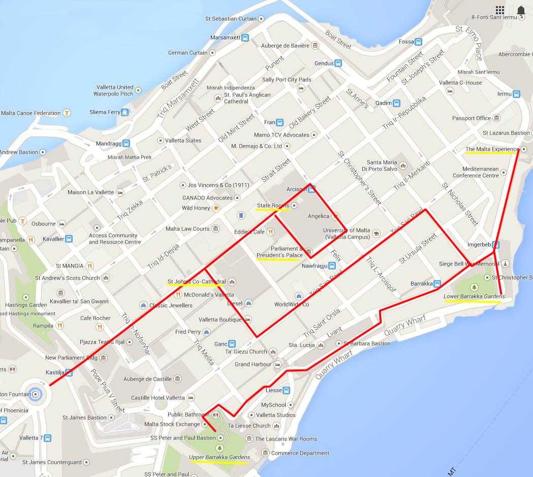 Isola Di Malta Cartina Geografica.Malta Itinerari Cosa Vedere E Dove Andare Diariovacanze It